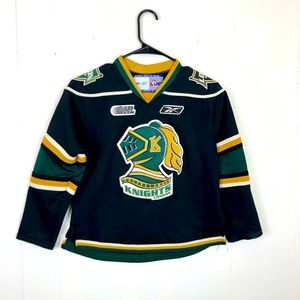 London Knights Reebok OHL Jersey Sz Youth Small